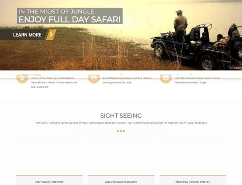 Ranthambhore Safari Booking