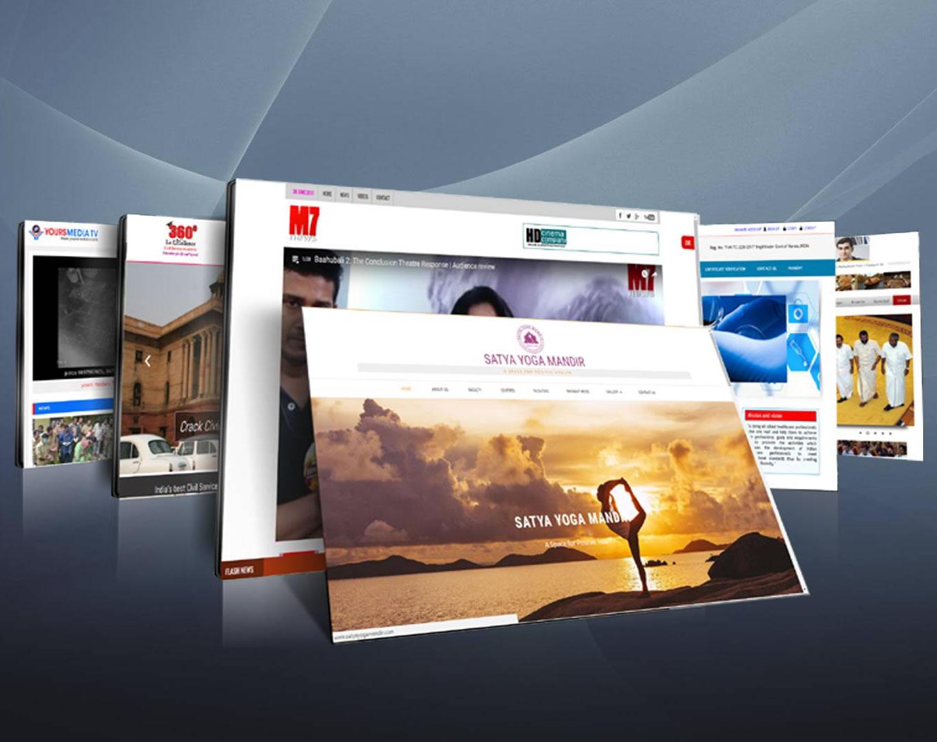 website designing starter package manith infocom